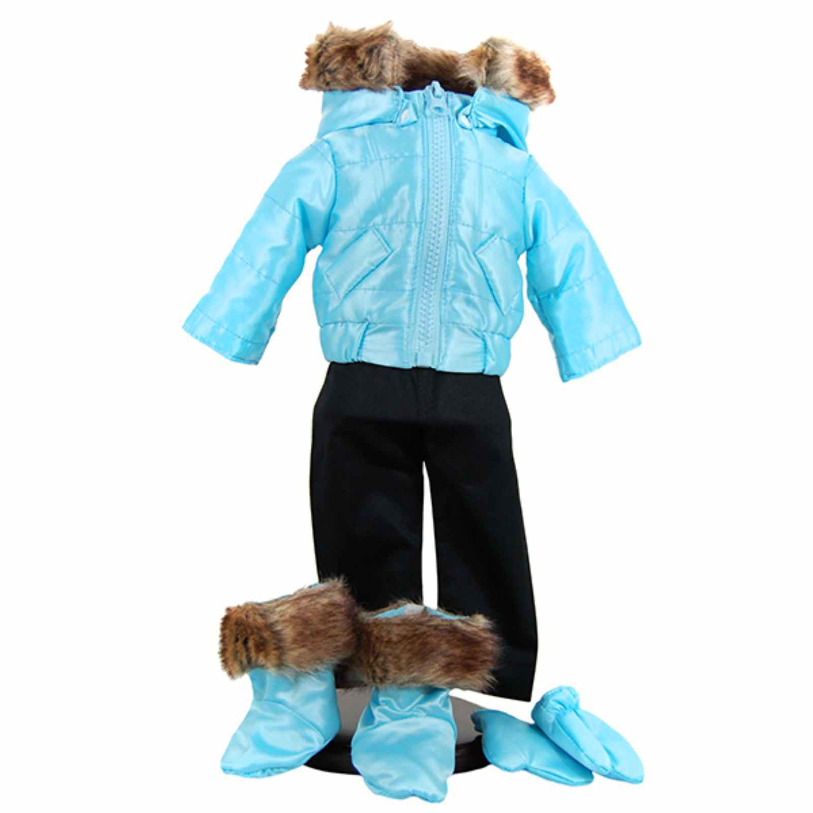 Queen's Treasures Bitty Snow Suit and Boots 15 in. Baby D...
