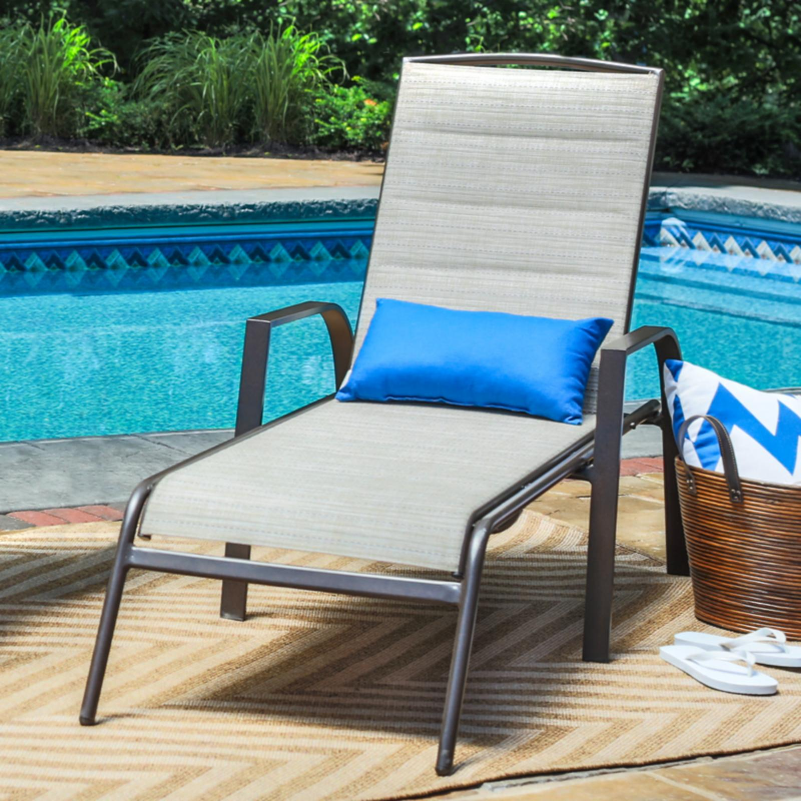 Outdoor Coral Coast Del Rey Padded Sling Chaise Lounges - Set of 2 Beach - BW-PBL03B-2032