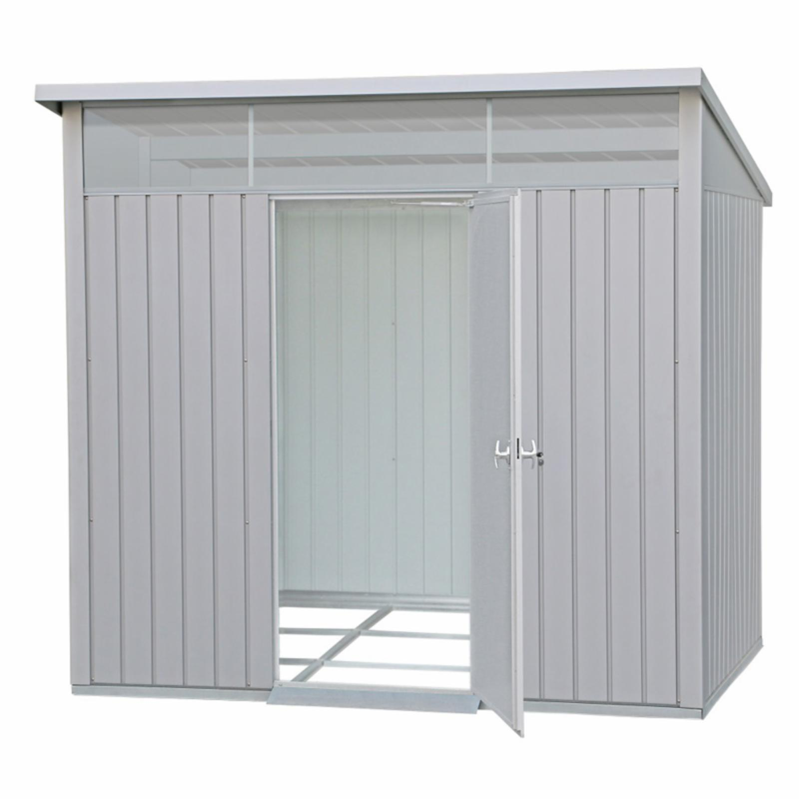 Duramax Building Products Palladium Heavy Duty Metal Storage Shed - 41372