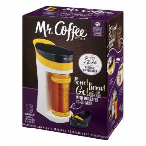 Mr. Coffee Pour Brew Go Personal Coffee Maker