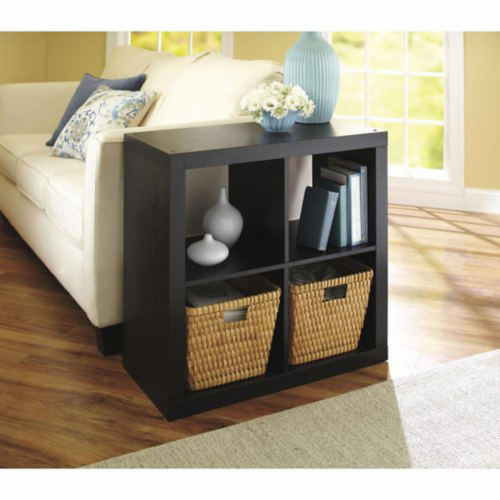 BETTER HOMES AND GARDENS Square 4 Cube Organizer - 404D9D...