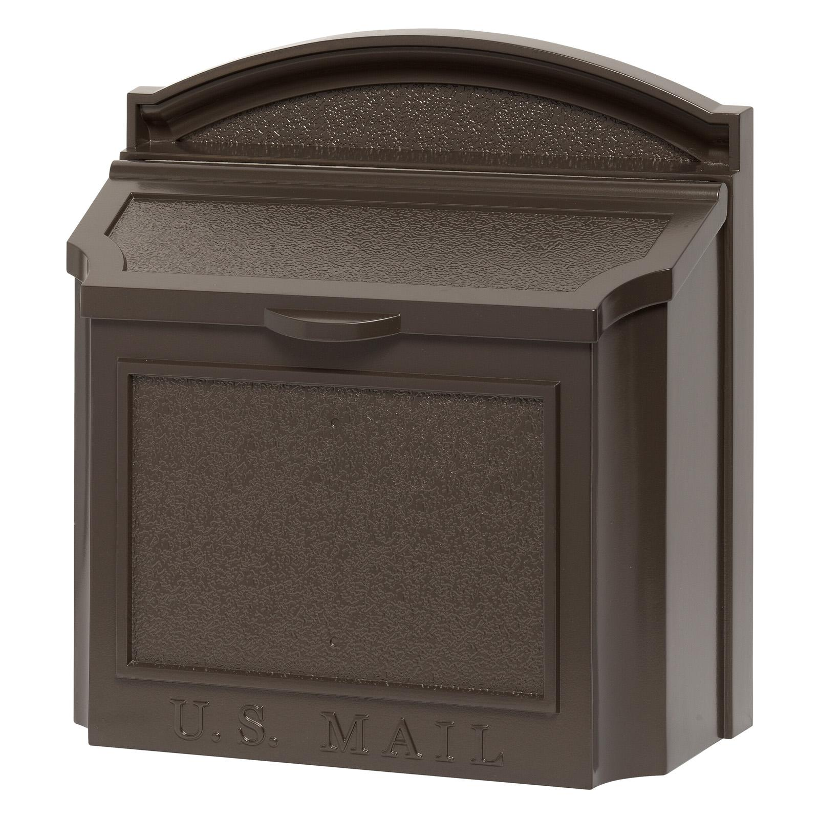Whitehall Wall Mailbox French Bronze - 16138