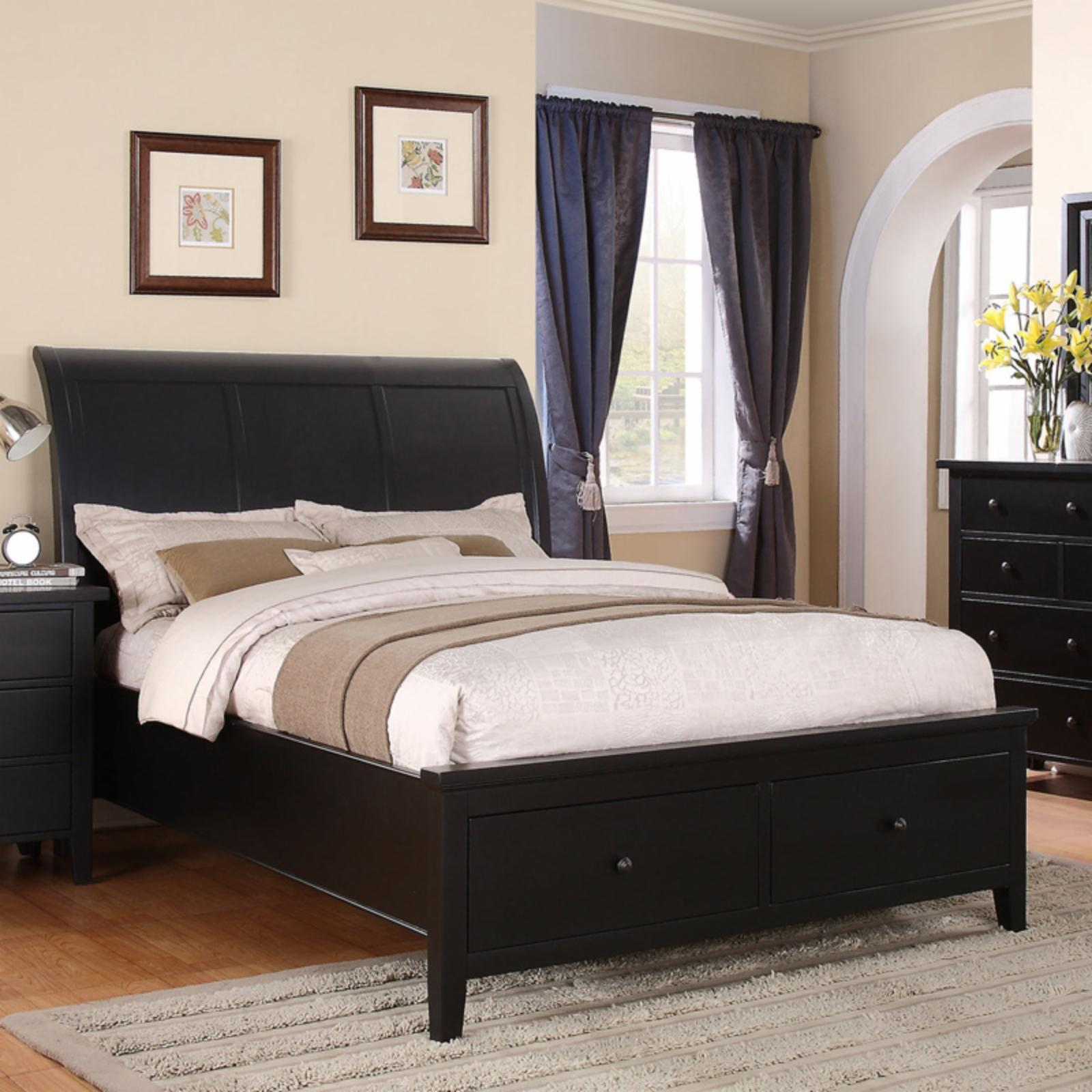 Winners Only Vintage Storage Sleigh Bed, Size: Queen - BV...