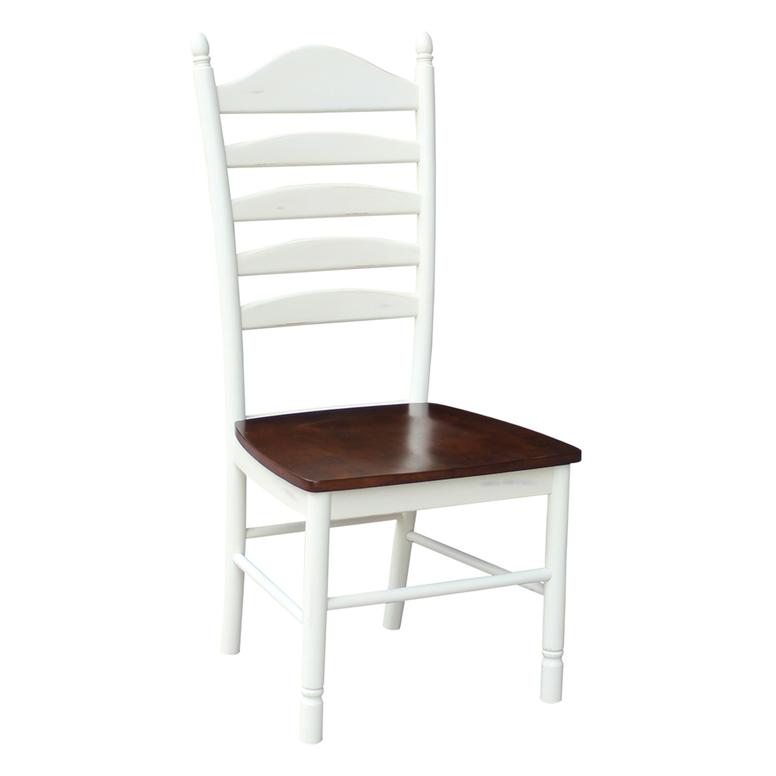 International Concepts Tall Ladderback Chair Set Of 2