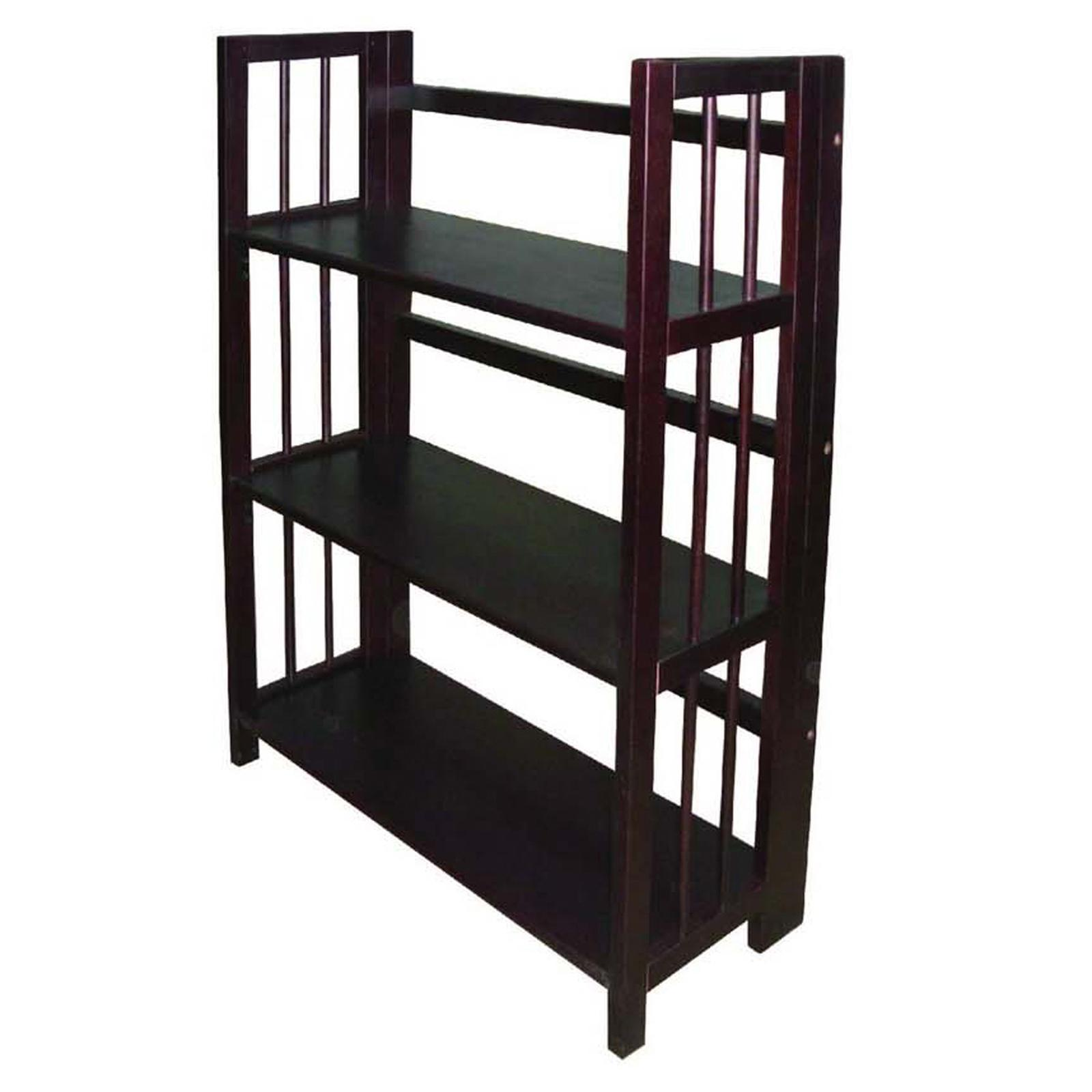 Yu Shan Co USA Ltd 3 Tier Stackable Folding Bookcase