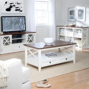 Farmhouse Cottage Style TV Stands And Entertainment Centers